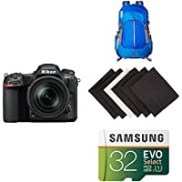 Nikon D500 DX-Format Digital SLR with 16-80mm ED VR Lens w/ AmazonBasics Accessories