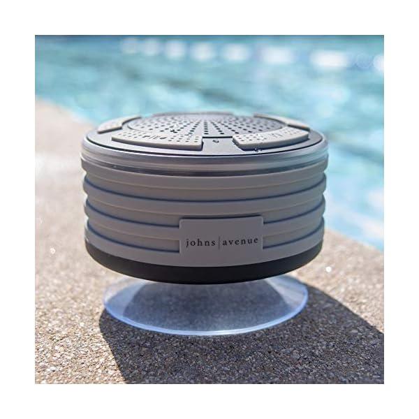 Bluetooth Shower Speaker Waterproof by Johns Avenue