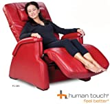 Human Touch PC-85 Perfect Chair, Red Bonded Leather