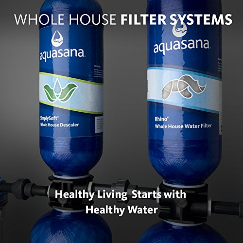 Aquasana 10-Year, 1,000,000 Gallon Whole House Water Filter with Salt-Free Softener, UV Filtration and Professional Installation Kit