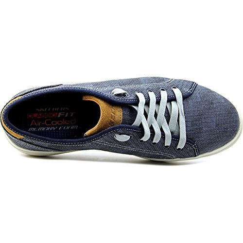 Skechers STATUS- BORGES, Zapatillas de Deporte, Hombre Bleu marine