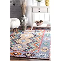 nuLOOM RIRY01A Hand Tufted Tribal Paola Rug, 2 6 x 8 , Multi