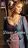 A Lady of Notoriety (Mills & Boon Historical) by  Diane Gaston in stock, buy online here