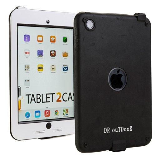 iPad Mini / 2 / 3 Wasserdichte Hülle, COOPER SUBMARINE wasserdicht gemäß IP68, strapazierfähige, robuste, langlebige, stoßfeste Outdoor-Schutzhülle mit Displayschutz für Apple iPad Mini / 2 / 3 (Weiß)