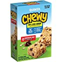 Quaker 25% Less Sugar Chocolate Chip Chewy Granola 58 Bars