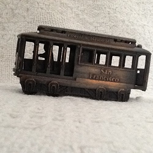 Vintage 1985 Powell & Mason St. San Francisco Pencil Sharpener Cable - Powell San St Francisco