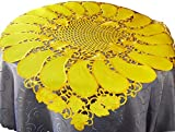 EcoSol Designs Embroidered Table Topper Centerpiece