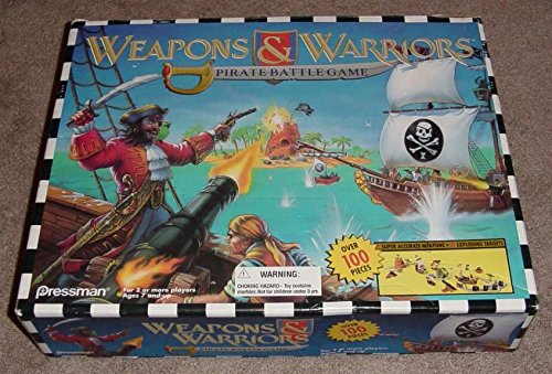Weapons and Warriors Pirate Battle Game (Weapons And Warriors Board Game compare prices)