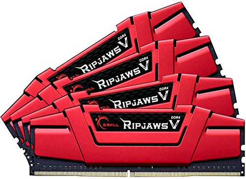 Memoria RAM 32GB G.SKILL (4 x 8GB) Ripjaws V Series DDR4 PC4-26600 3333MHZ para Intel Z170 Platform 288-Pin Modelo F4-33