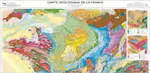 Carte Geologique Australie.Amazon Fr Carte Geologique De La France 1 1 000 000