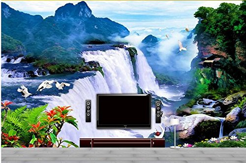 XLi-You 3D Papel pintado Fresco 3D Wallpaper Mural Personalizado ...