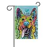 Crystal Chesterton German-Shepherd-Dog-Dean-Russo 12.5″x18″ Garden Flag – Classic Double-Sided Holiday Decoration Outdoor Flag Review