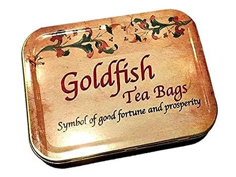 Amazon.com: Personalizado, 4 Goldfish bolsas de té, Earl ...