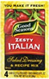 Kraft Good Seasons Salad Dressing and Recipe Mix, Zesty Italian, 2.4 Ounce