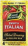 italian salad dressing mix - Kraft Good Seasons Salad Dressing and Recipe Mix, Zesty Italian, 2.4 Ounce