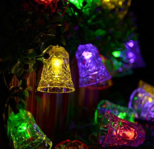 Christmas Bell Lights Outdoor in US - 2