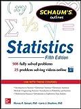 Schaum's Outline of Statistics, 5th Edition (Schaums' Outline Series)