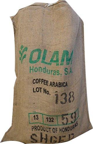 SABOREATE Y CAFE THE FLAVOUR SHOP Tela de Saco de Café de Origen Olan Reutilizado para Tapizar de Yute Arpillera 100% Natural (70 cm x 1 metro)