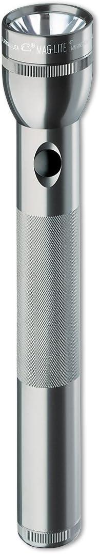 Mag-Lite S3D106 3D-Cell Stablampe 31,5 cm silber f/ür 3 Mono-Batterien