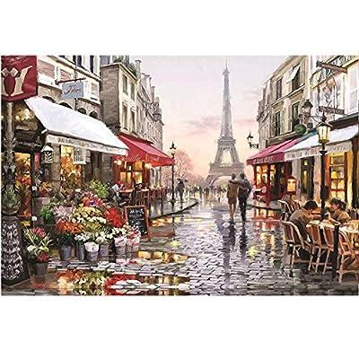 Puzzles for Adults 1000 Piece Large Puzzle, Vintage Paintings Landscape Puzzle: Toys & Games