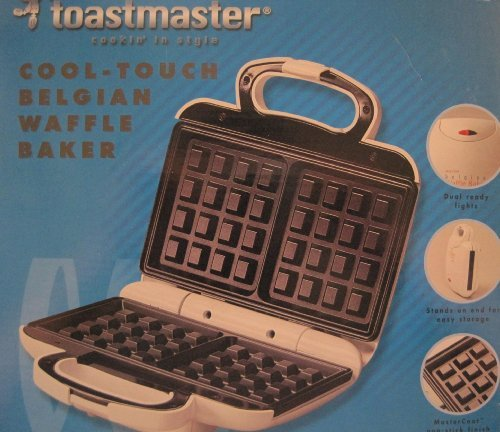 Toastmaster Cool-Touch Belgian Waffle Baker, TWB2