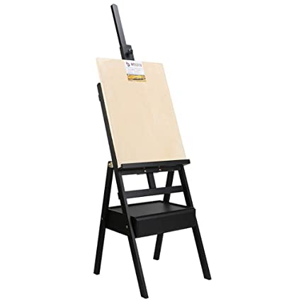 amazon com painting rack easel display floor standing easel drawing