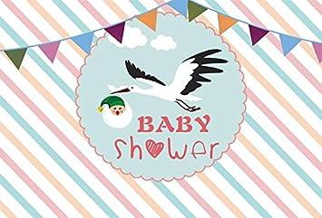 Amazon.com: yeele 5 x 3ft Baby Shower telón de fondo lindo ...
