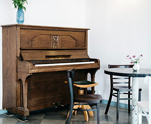 Home Comforts Acrylic Face Mounted Prints Furniture Organ Piano Table Wooden Keyboard Print 14 x 11. Worry Free Wall Installation - Shadow Mount is Included.