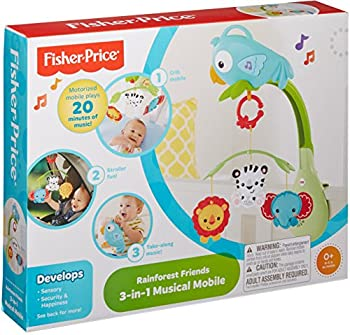 Fisher-price Rainforest Friends 3-in-1 Musical Mobile 21