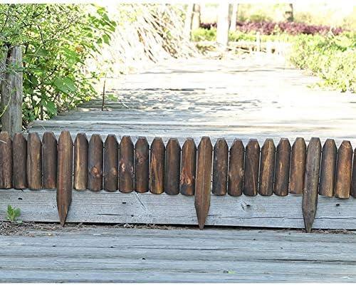 Zhanwei Garden Fence Wooden Flower Bed Picket Fencing Outdoor