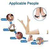 Gel Toe Separators for Bunions, 4 Pcs Toe Spacers