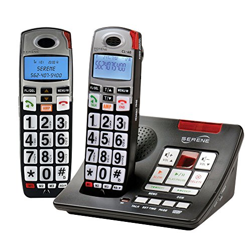 Serene Innovations CL-60A Amplified Phone with Expansion Handset
