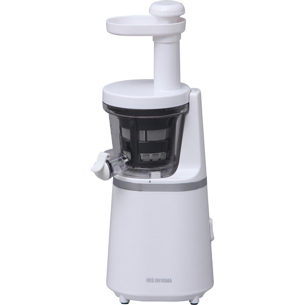 アイリスオーヤマ スロージューサー ホワイト ISJ-56-W   B01MU2V559
