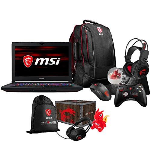 MSI GT63 TITAN-047 Enthusiast (i7-8750H, 64GB RAM, 500GB NVMe SSD + 1TB HDD, GTX 1070 8GB, 15.6