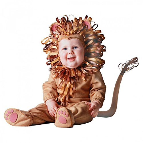 Tom Arma Lion Baby Costume Plush Fleece 6-12 Months Signature Limited Edition ()