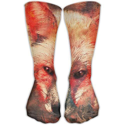 YUANSHAN Socks Fire Fox Women & Men Socks Soccer Sock Sport Tube Stockings Length 11.8Inch]()