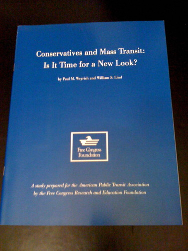 Conservatives and mass transit: Is it time for a new look?