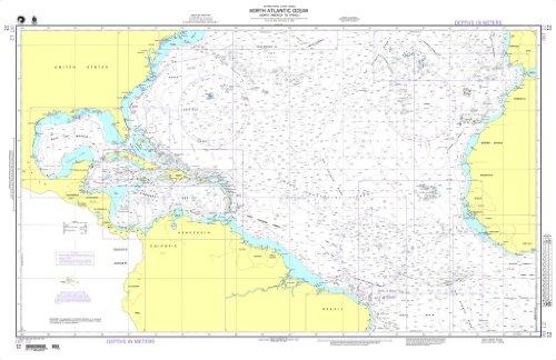 NGA Chart 12: North Atlantic Ocean