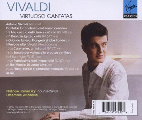 philippe jaroussky vivaldi virtuoso cantatas