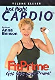 FitPrime Just Right Cardio DVD - Anna Benson