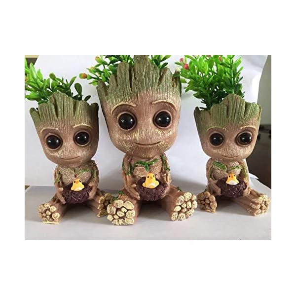 Innovative Action-Figur Für Pflanzen  Stifte A Thematys Baby Groot Blumentopf