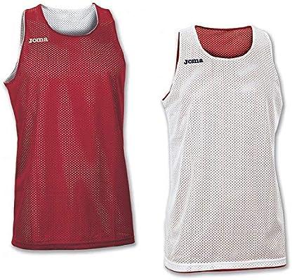 Joma 100050.600 - Camiseta de Baloncesto para Mujer, Color Rojo, Talla 6XS-5XS: Amazon.es: Zapatos y complementos