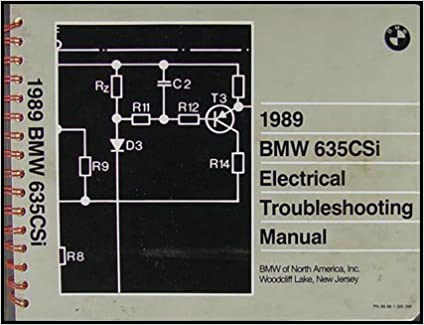 bmw 635csi 1989 electrical troubleshooting manual