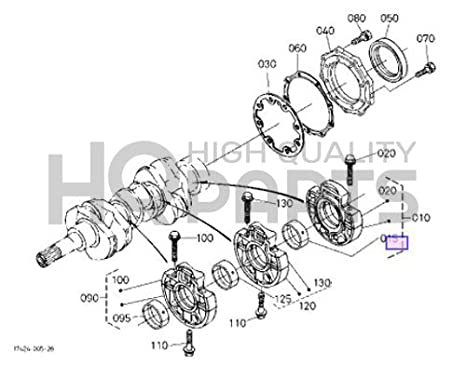 Amazon Com Kubota Metalcrankshaft Part 16292 23494 Garden Outdoor