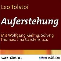 Auferstehung Hörspiel von Leo Tolstoi Gesprochen von: Wolfgang Kieling, Solveig Thomas, Lina Carstens, Hanns Ernst Jäger, Hans Mahnke, Wolfgang Büttner