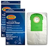 EnviroCare Replacement Vacuum Bags for Type W2 Windtunnel Uprights 6 pack