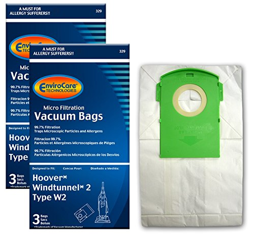 (EnviroCare Replacement Vacuum Bags for Type W2 Windtunnel Uprights 6)