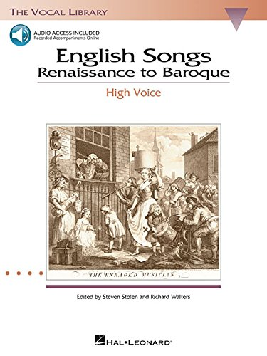 - English Songs: Renaissance to Baroque: The Vocal Library High Voice