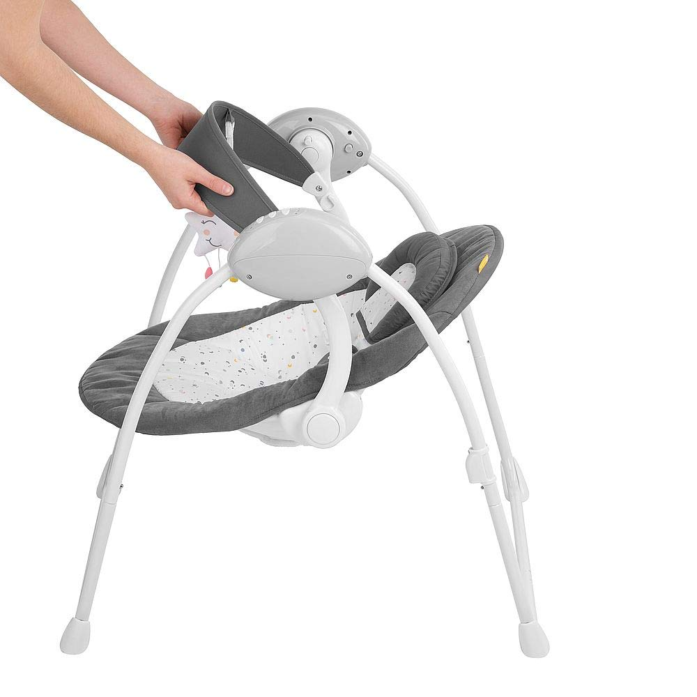 Badabulle Comfort Baby Swing White//Grey