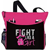 "Fight Like a Girl Boxing Glove Tote Bag ""Dakota"" - 8 Colors"